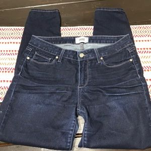 Paige ankle skinny jeans Sz 31